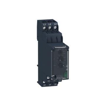 Schneider Electric Zelio fasebewakingsrelais 3 fasen 380-480V AC 2M/V