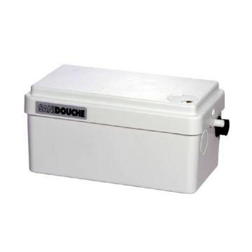 Sanibroyeur Sanidouche vuilwaterpomp voor douche - wastafel, wit