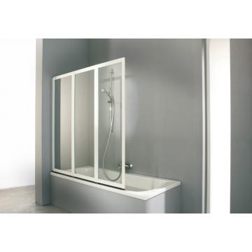 Huppe Combinett 3-delige badklapwand 140x140 cm.