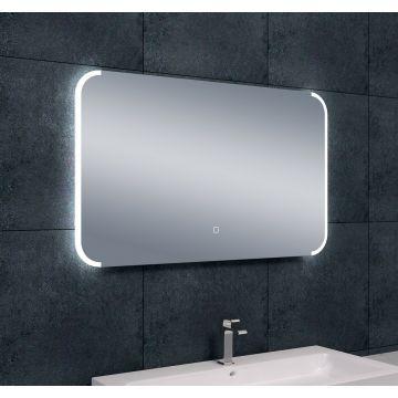 Wiesbaden Bracket dimbare LED condensvrije spiegel 100x60 cm
