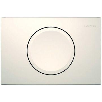 Geberit Delta11 bedieningspaneel 1-knop frontbediening, wit