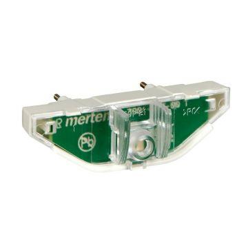 Schneider Electric Merten LED-verlichtingsmodule voor schakelaar/impulsdrukker - 100-230V, rood