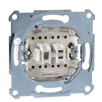 Schneider Electric Merten wisselschakelaar/wisselschakelaar 16A/AC 250V