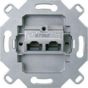 Schneider Electric Merten UAE-basis schakelaar RJ45 - 8/8 Cat 6