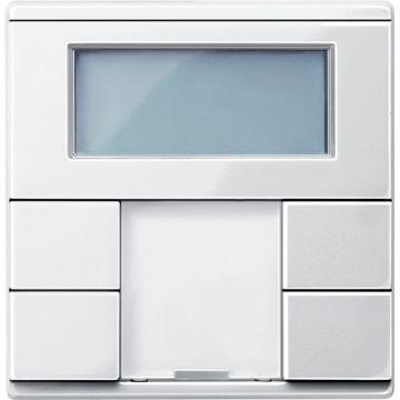 Schneider Electric Merten KNX thermostaat met display, polarwit
