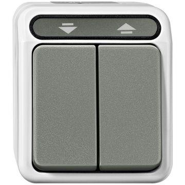 Schneider Electric Merten Aquastar jaloezieschakelaar 1-polig, grijs