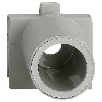 Schneider Electric Merten Aquastar buisinvoer 19 mm, lichtgrijs