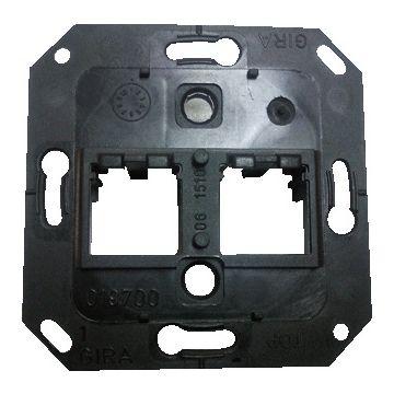 Gira draagring voor Modular Jack 2-voudig ITT Canon Panduit