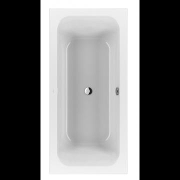 Villeroy & Boch Loop & friends bad 190 x 90 cm. met hoekige binnenvorm, wit