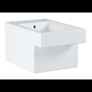 GROHE Cube keramiek wandbidet 56,5x38 cm. pureguard, wit