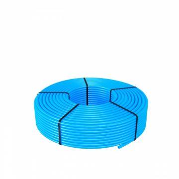 Magnum vloerverwarmingsbuis pe-rt 16x2 5 lagen rol90m., blauw