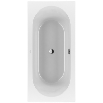 Villeroy & Boch Loop & friends bad 190 x 90 cm. met ovale binnenvorm, wit