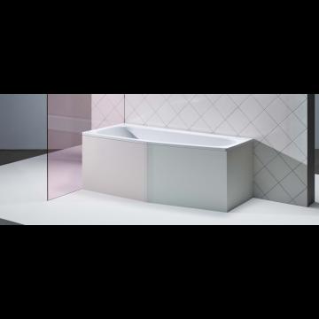 Bette Bambino plaatstalen bad 157 x 65 x 42 cm. rechts, wit