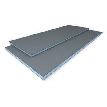 Wedi Bouwplaat bouwplaat 2600x1200x12,5 mm., blauw