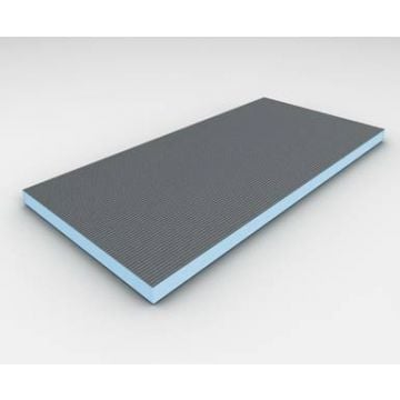 Wedi Bouwplaat bouwplaat 2500x600x60 mm., grijs