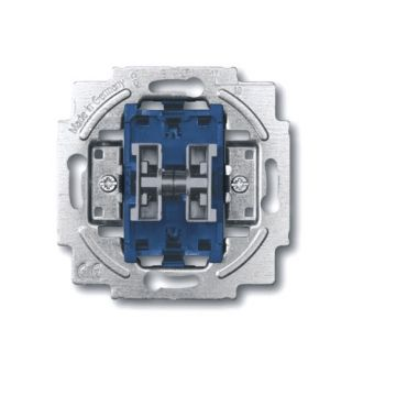 Busch-Jaeger basiselement installatieschakelaar, 2 wippen