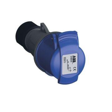 ABB Cee-koppelcontactstop kunstof, blauw