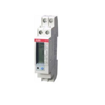 ABB C13 energiemeter - 40A, 1xS0 pulse of alarm