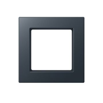 Jung A-creation afdekraam kunstof, zwart, (bxhxd) 84x84x10,4mm, 1 eenheid