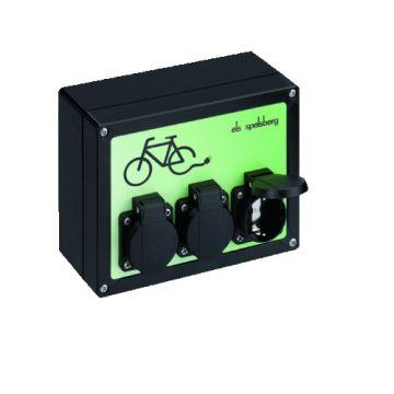Spelsberg laadpaal voor elektrische fiets 3-fase, 3,5kW, zwart