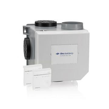 Itho Daalderop CVE-S HE Optima²-ventilatie-unitpakket, ventilatievermogen 468 m3/uur met geintegreerde vochtsensor