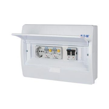 Eaton PV-verdeler 2x aardlekautomaat
