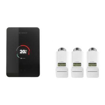 Bosch EasyControl slimme verwarming startset, zwart