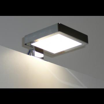 Sub 129 led verlichting voor spiegel en/of spiegelkast 2 x 10 x 10 cm, zwart