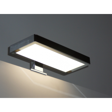Sub 129 led verlichting voor spiegel en/of spiegelkast 2 x 20 x 9 cm, zwart