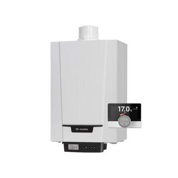 Remeha Tzerra Ace 24c CW3 (conc. 60/100) Combi Comfort Systeem met eTwist kamerthermostaat