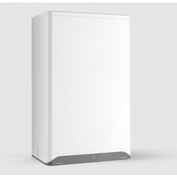 Intergas Superflow 60 Gasgeiser met energie-efficiëntieklasse A 75,5 x 45 x 24 cm, wit