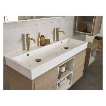 Bruynzeel Box nis, geschikt voor wastafelonderkast 150 cm, mat wit