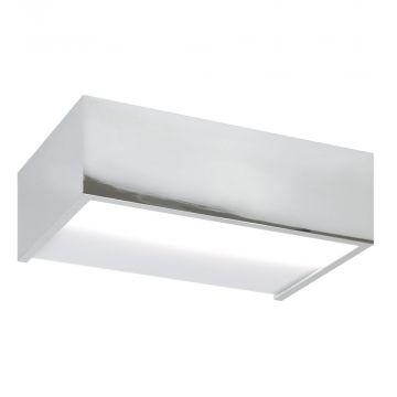 Sub 159 wall design s led wandlamp 6,5w chroom, chroom