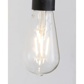 Sub 16 led lamp e27 3000k 380l peervormig warm wit, warm wit