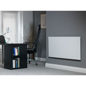 Masterwatt Strong infrarood verwarmingspaneel 1200W 180x60x4,5 cm met RF-ontvanger, wit