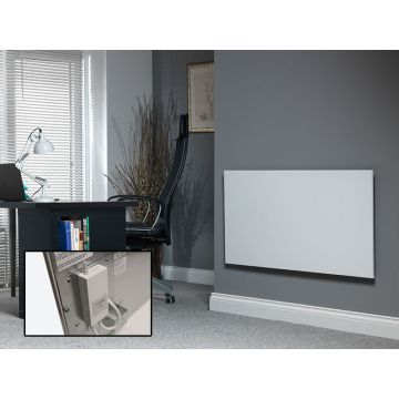 Masterwatt Strong infrarood verwarmingspaneel 750W 120x60x4,5 cm met RF-ontvanger, wit