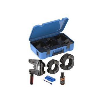 Geberit Mapress set perskettingen in koffer m. adapter ZB221 76.1-88.9mm compatibiliteit 2XL 691188001