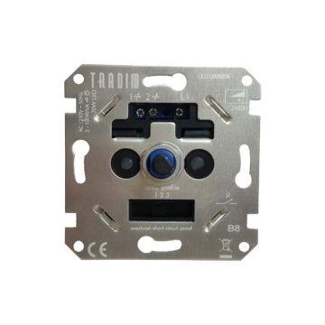 INB.DIMMER LED/GLOEI/HALOGEEN 3-150W TRADIM 2485H