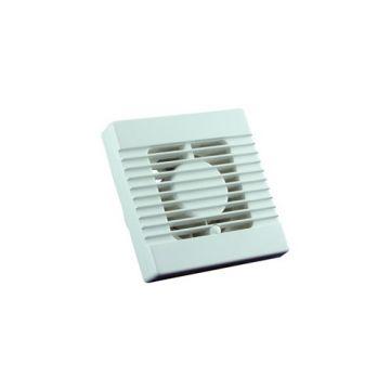Nedco EF120VT badkamer/toiletventilator, 175x175 mm, wit