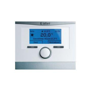 Vaillant mutiMATIC klokthermostaat draadloos incl. buitenvoeler m. gratis APP 24V mutiMATIC VRC700 wit 20231557