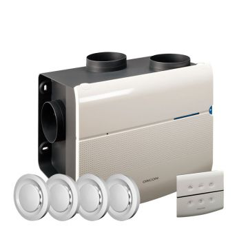 Orcon MVS-15 woonhuisventilator renovatiepakket