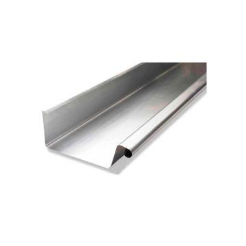 Rheinzink WB zinken bakgoot B37 dikte=0.80mm doos=9m, lengte=3m, prijs=per meter