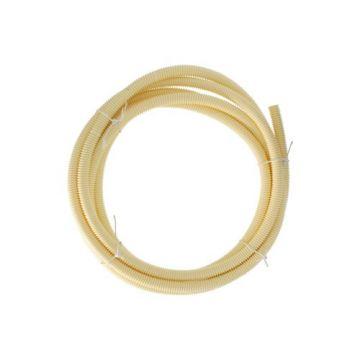 """Attema elektrabuis PVC flexibel op rol 5/8""""-16mm rol=5m, prijs=per rol crème 9514"""