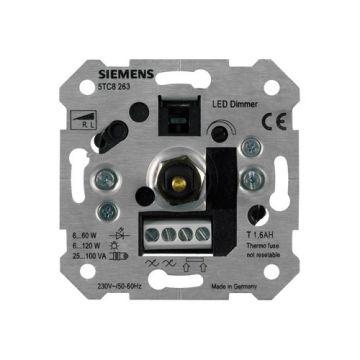 Siemens sokkel inbouw dimmer LED/gloei/halogeen 6-60W