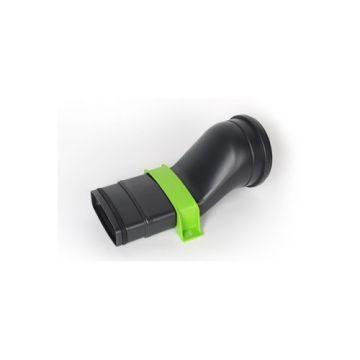Vasco Ventilation ventielaansluitstuk recht Easyflow incl. beugel 5 st 11VE40411
