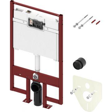 TECEconstruct inbouwreservoir met Octa-spoelkast 120x64,5x8 cm, geschikt voor frontbediening