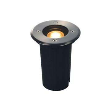 SLV solasto 120 round roestvrij staal 1xgu10