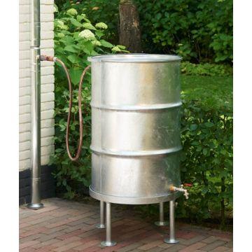 RHEINZINK verzinkt stalen regenton 210 liter, zink
